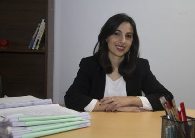 Jessica Ortega Barón, galardonada con el premio Alumni Plus 2017