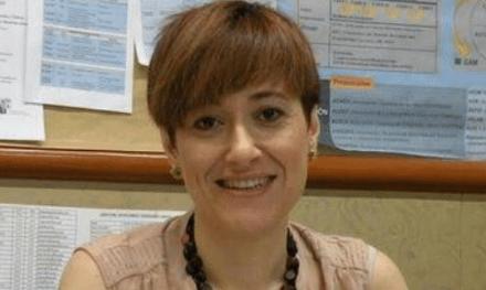 Montse Aiger, profesora ayudante doctora en la Universidad de Zaragoza