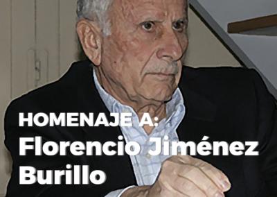 Homenaje a Florencio Jiménez Burillo
