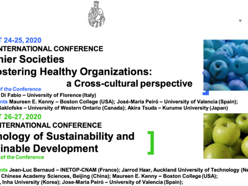 Healthier Societies and Healthier Organizations