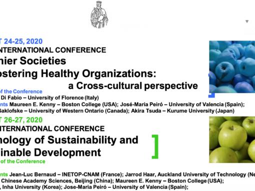 Healthier Societies and Healthier Organizations